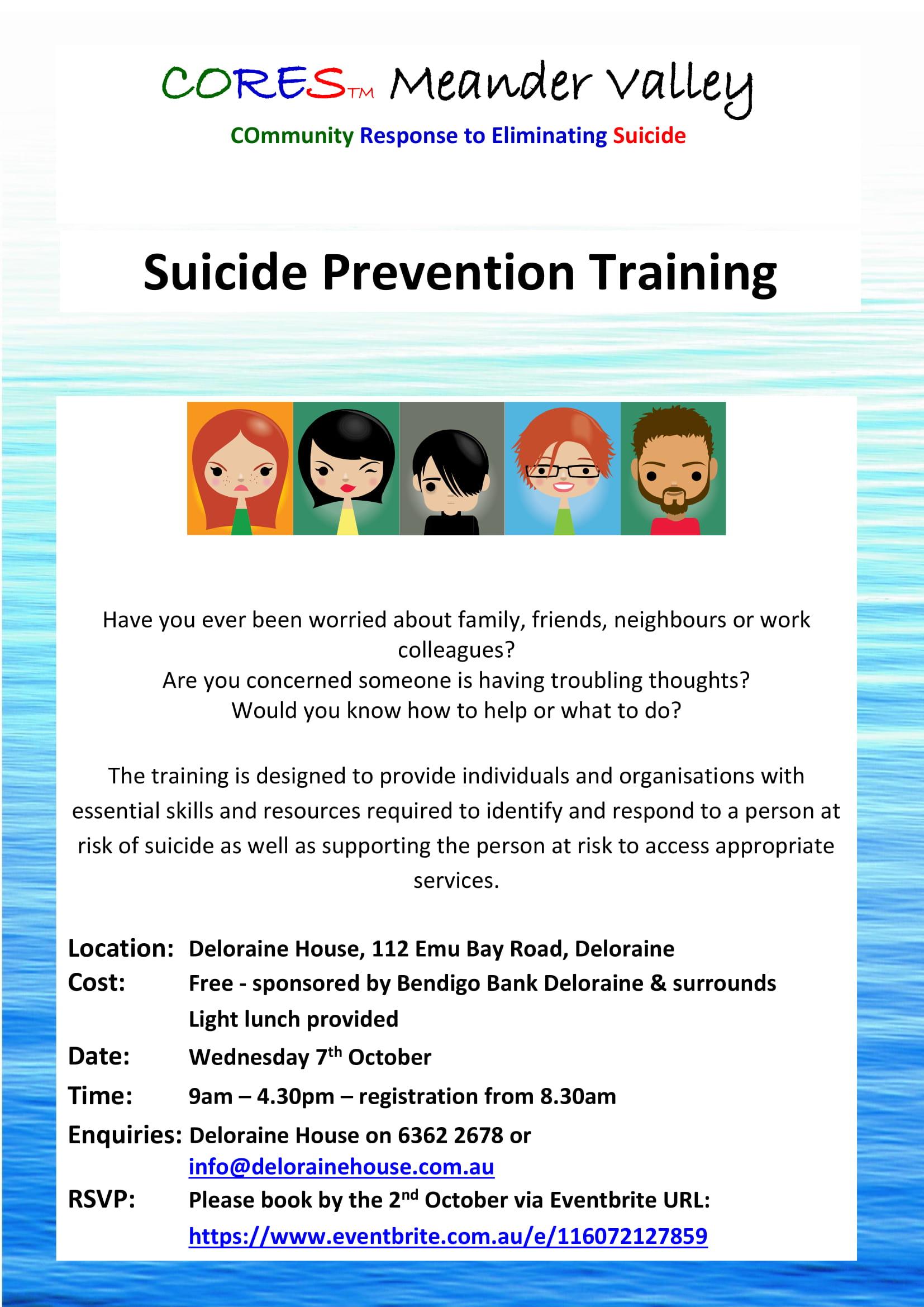 CORES Training Deloraine October 2020 fb