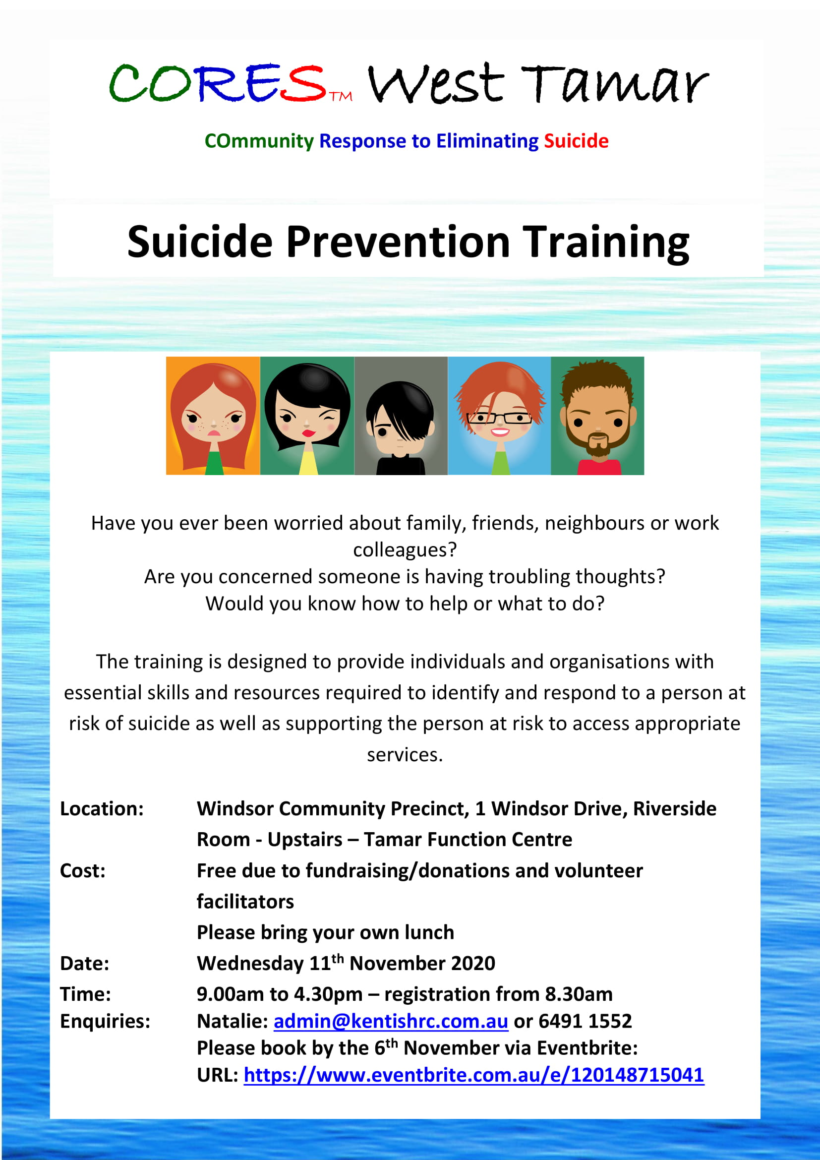 CORES training Riverside November 2020 fb