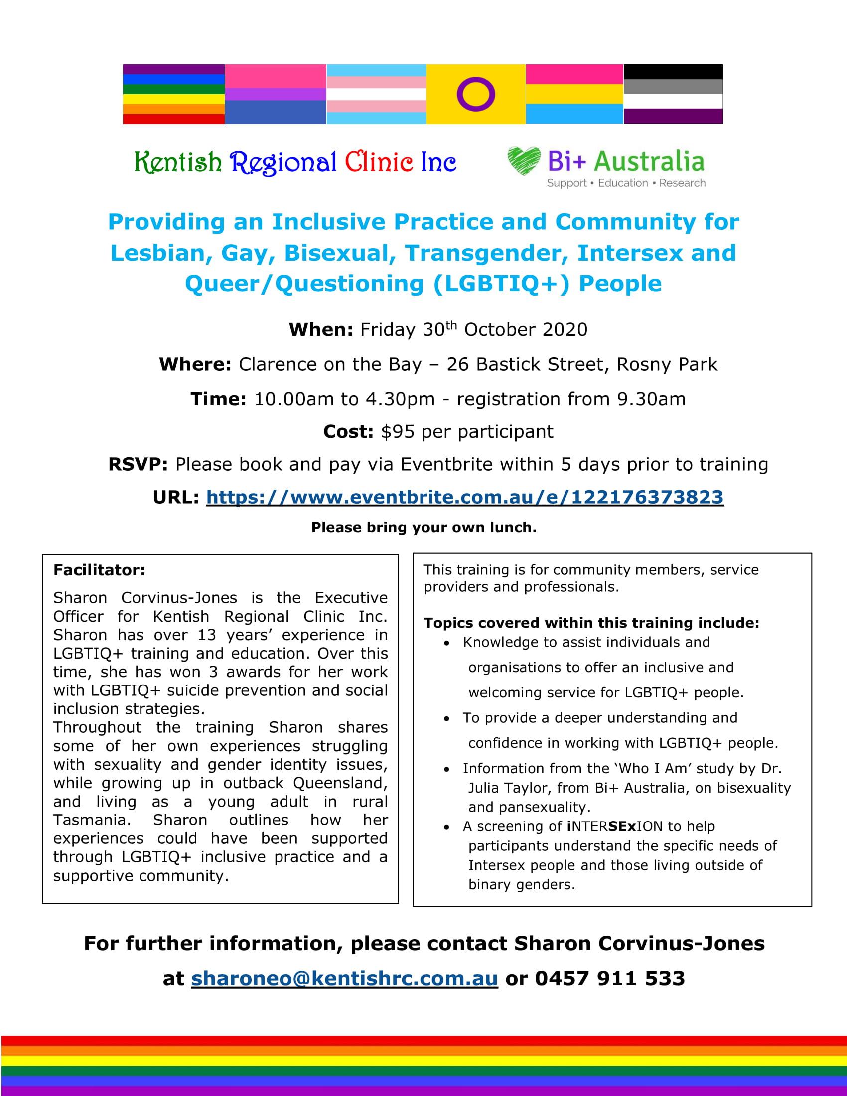 LGBTIQ+ training Rosny Park October 2020-1
