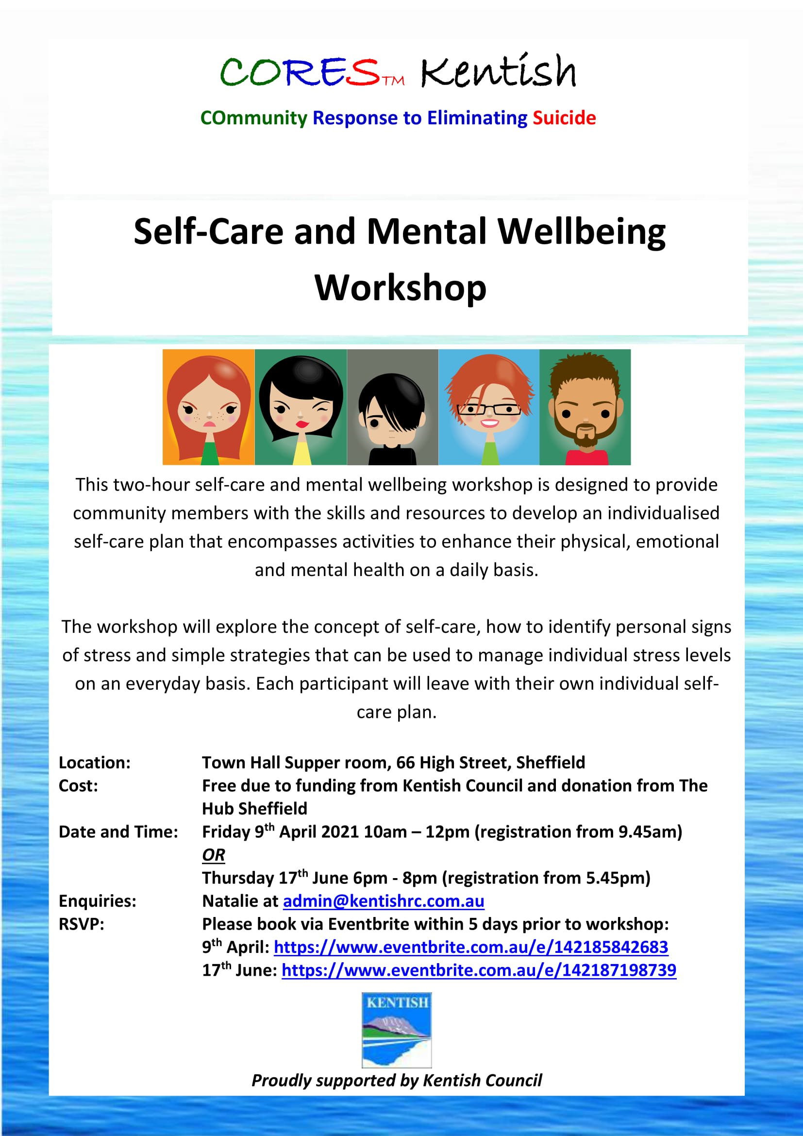 CORES Self-Care and Mental Wellbeing Kentish 2021-1