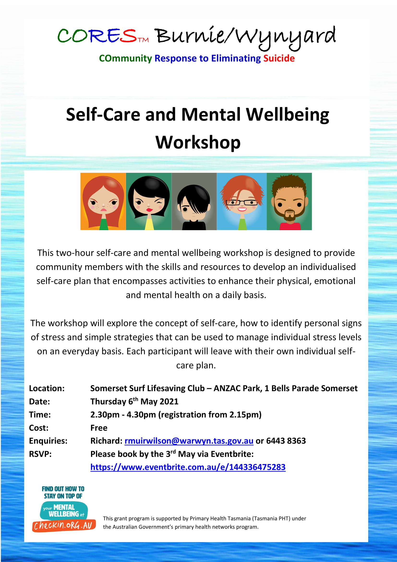 CORES Self-Care and Mental Wellbeing Somerset May 2021 fb