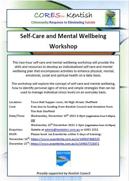 Self-Care Sheffield November